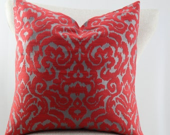 Designer pillow cover,throw pillow,accent pillow.decorative pillow,lumbar pillow,same fabric on front and back.
