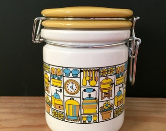 MidCentury Canister- pristene condistion!