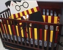 Popular Items For Harry Potter Crib Bedding On Etsy