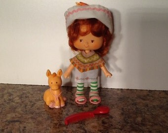 Cafe Ole w/ Burrito Vintage Strawberry Shortcake Doll Complete