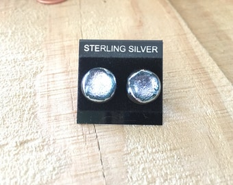 Black and Silver Studs