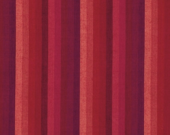 MULTI STRIPE PIMENTO Woven wmultix.limex  by  Kaffe Fassett fabric sold in 1/2 yard increments