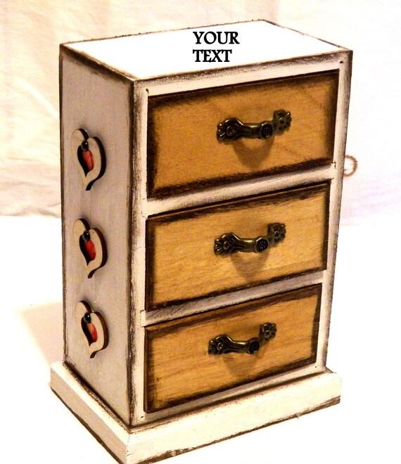 Personalized Jewelry Box Wood, Jewelry Box Drawers, Jewelry Organizer, Jewelry  Cabinet Box,
