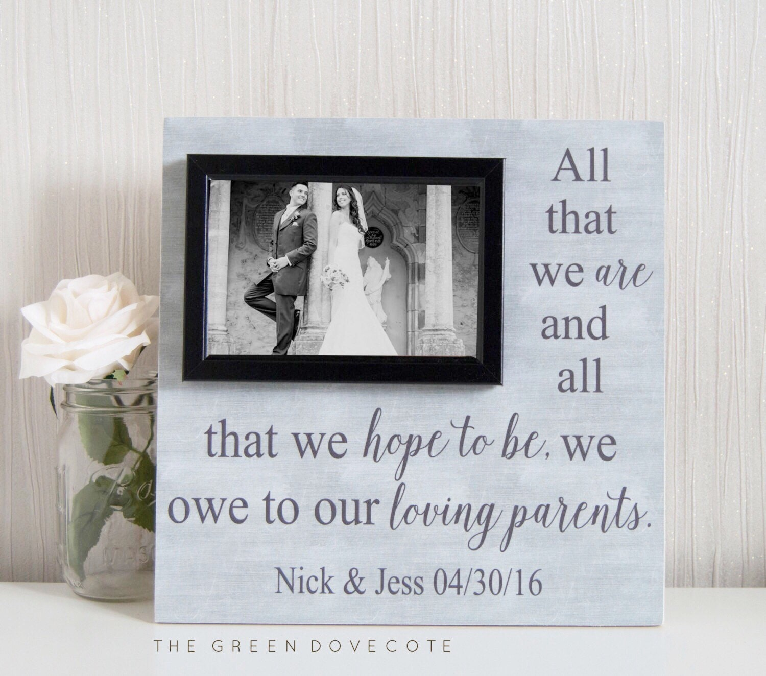 Wedding Gifts For Parents Of The Groom : Parents Of The Groom Gift Mother Of The Groom Gift Father