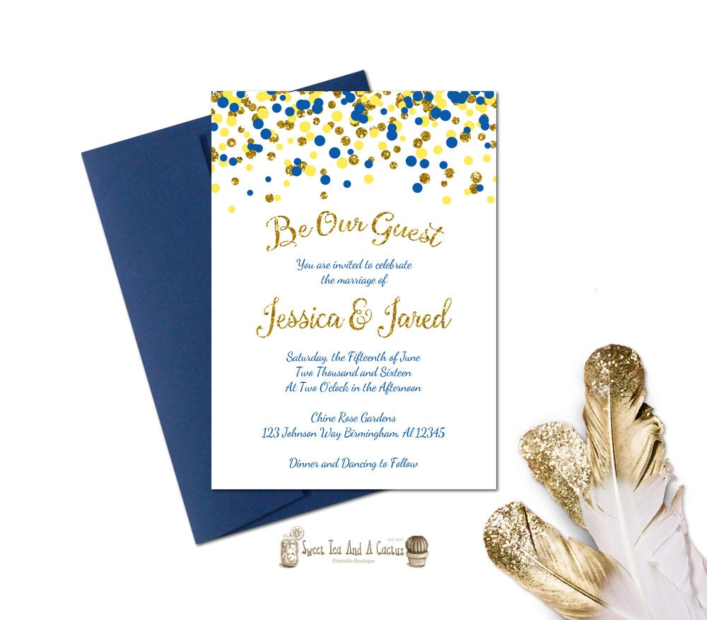 Fairytale Invitations Wedding with beautiful invitations design