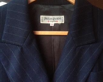 Vintage Yves Saint Laurent jacket wool