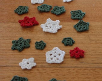 Snowflakes 3 pack / Christmas Decorations / Table Decorations