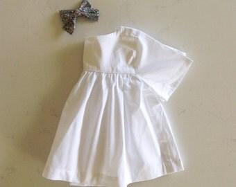 White empire blouse