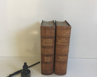 Beautiful Antique Encyclopedia Set from 1898 The Student's Cyclopedia