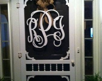 Wooden Monogram Wall Hanging, Wooden Monogram Sign, Wooden Monogram Wall Art,  Nursery Decor