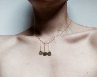 Necklace Sun flakes