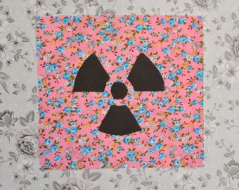 Floral Radioactive Patch