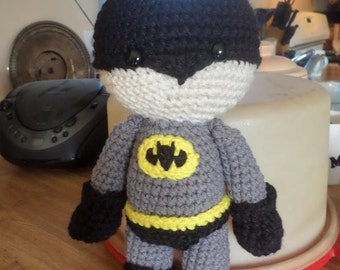 Batman Plushie Stuffed Superhero Toy