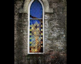 Brilliant Church Stained Glass Window