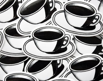 Coffee Vinyl Sticker