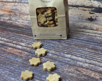 Gluten Free Dog Treats- Organic - Blueberry Tart- Homemade- Vegan