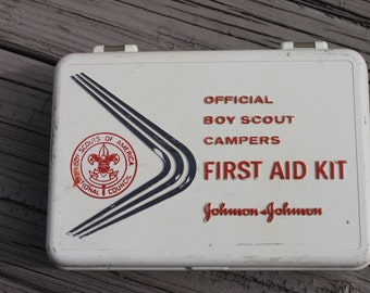 Vintage Boy Scout First Aid Kit