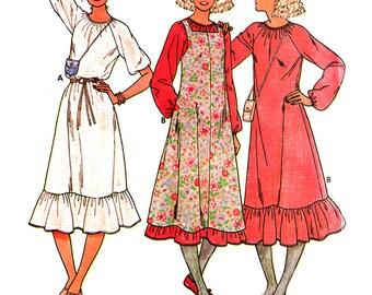 Butterick Sewing Pattern 6294 Misses' Dress, Jumper  Size:  14  Uncut