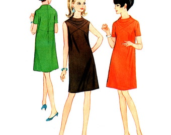 McCall's Sewing Pattern 8851 Misses' Dress  Size:  16  Uncut