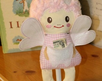Tooth Fairy Doll - Tooth Fairy - Doll - Personalized Doll - Personalized Tooth Fairy Doll - Girls Tooth Fairy Doll - Boys Tooth Fairy Doll