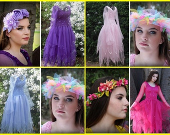 Adult Fairy Halloween Costume ~ Plus Size  Renaissance Costume  ~ Theatre ~ Fairytale  Wedding ~ Masquerade~ Batcholette Party ~ Cosplay
