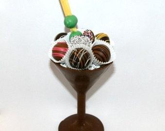 Martini Glass Chocolate Mold 3D