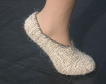 Crochet slippers, Chunky slippers, Heat Holders Socks, Wool, Big Socks
