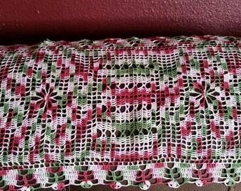 Hand Crocheted Table Runner