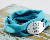Running | workout |  Inspirational Bracelet Wrap | Running Inspiration |  Bracelet Wrap | Hand stamped bracelet