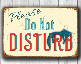 DO NOT DISTURB Sign,  Please do not disturb sign, Vintage style Please do not disturb Sign, Do Not Disturb, Do Not Disturb Door Hanger Sign