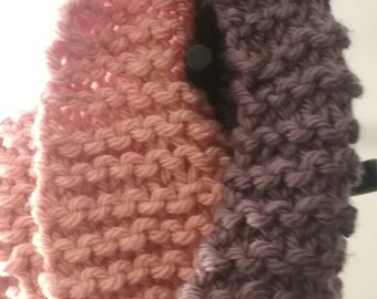 SALE!! Pink and Purple Cowl