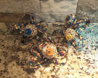 Rainbow Shredder Flowers/Chinchilla Toss Toys
