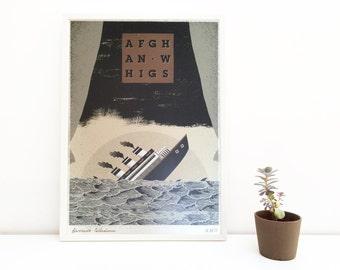 Afghan Whigs   digital print   50 x70