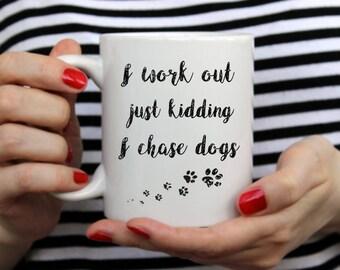 Dog coffee mug, Dishwasher safe