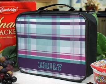 Personalized Lunch Tote, Lunch Bag, Monogrammed