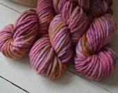 Wanderlust: Hand Dyed Super Bulky Weight Super Fine Merino Wool Yarn