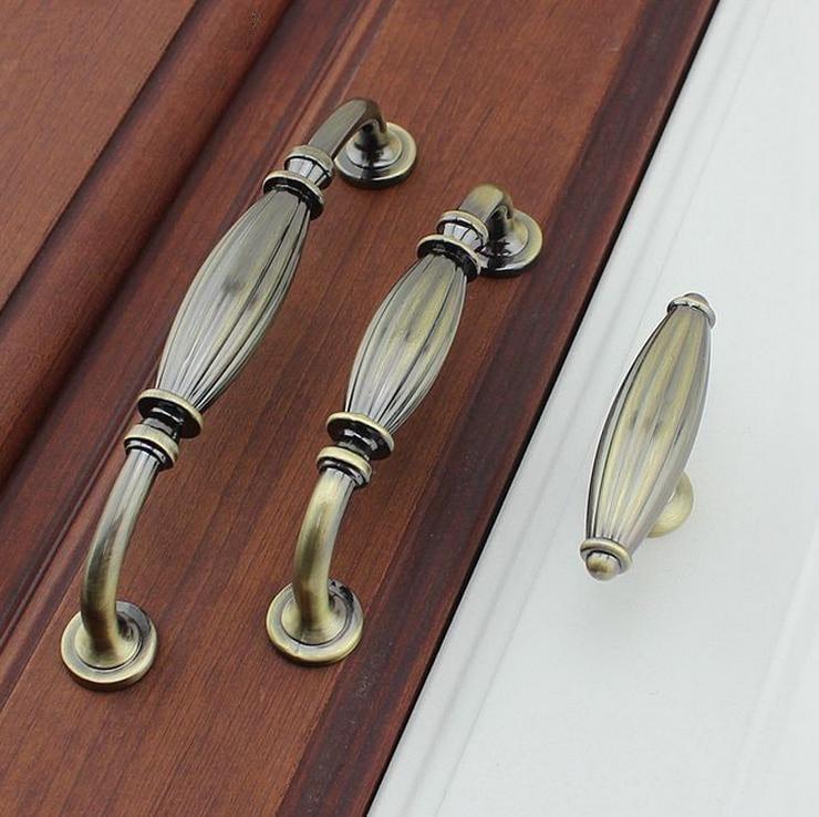 Vintage Style Cabinet Door Handles Pulls Antique Bronze