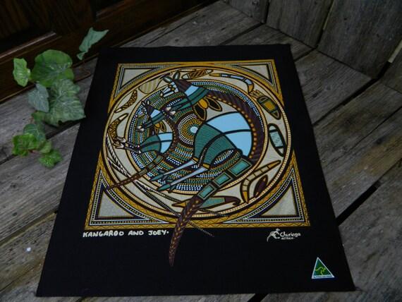 vintage aboriginal art