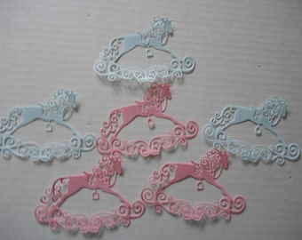 6 Tattered lace Rocking horse Dies