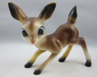Darling Vintage Big Eyed Bambi Deer Doe