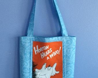 Dr. Seuss' Horton Hears a Who - Double-sided Panel Purse