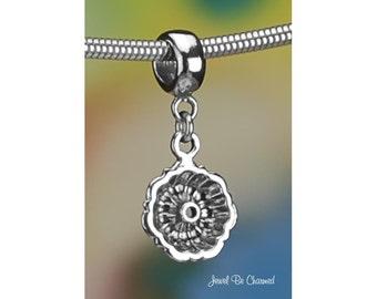 Sterling Silver Bundt Cake Pan Charm or European Style Charm Bracelet