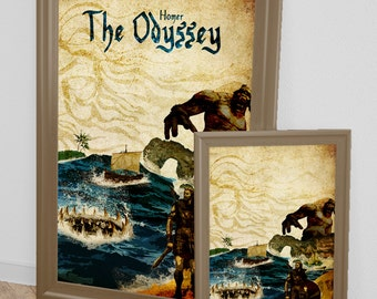 The Odyssey minimalist poster