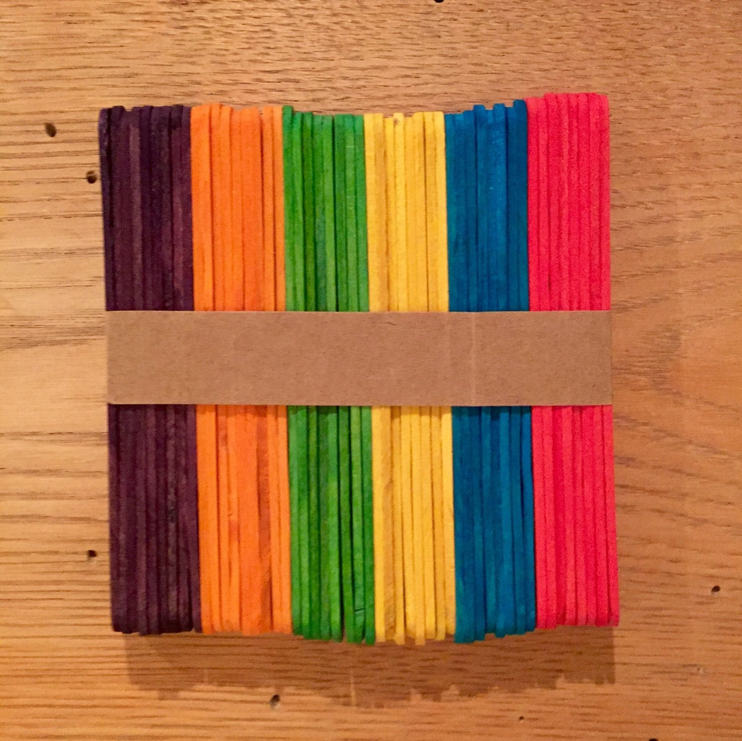 craft sticks rainbow craft 50 rainbow popsicle sticks crafts projects diy 4062