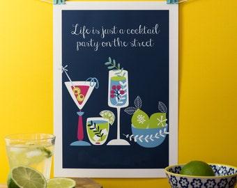 Happy Hour Print