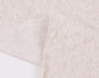 Stretch Knit Fabric Oatmeal