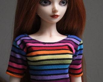Streaked T-Shirt MSD Girl