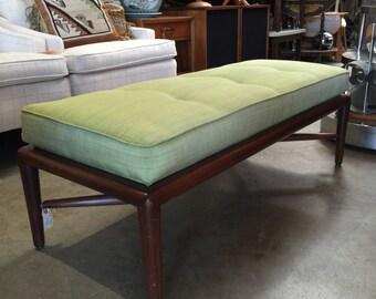 Mid Century Modern Upholstered Bench