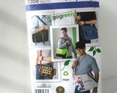 Satchel Bag Sewing Pattern Simplicity 2358 Men's Messenger Bags DIY Father's Day!