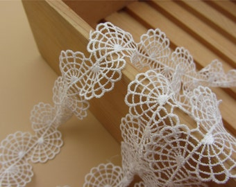 3cm white lace trim for DIY sewing,good wedding lace ribbon